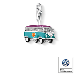 Charm pendant VW bus from the  collection in the THOMAS SABO online store