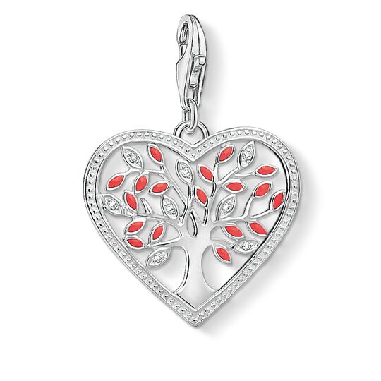 Charm pendant heart Tree of Love from the Glam & Soul collection in the THOMAS SABO online store