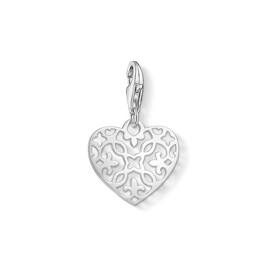 Charm pendant ornament heart from the Charm Club collection in the THOMAS SABO online store