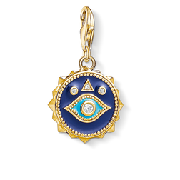 Charm pendant blue nazar eye from the Charm Club Collection collection in the THOMAS SABO online store