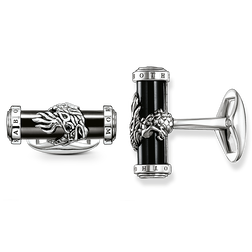 "cufflinks ""diamond dragon"" from the Rebel at heart collection in the THOMAS SABO online store"