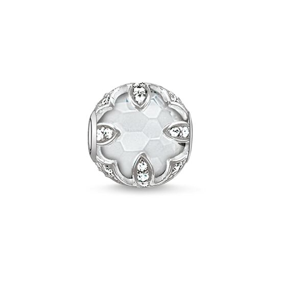 "Bead ""lotus blanc"" de la collection Karma Beads dans la boutique en ligne de THOMAS SABO"