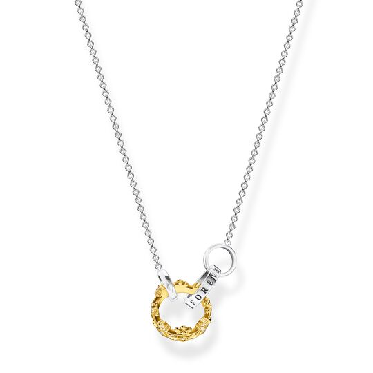 Necklace crown gold from the  collection in the THOMAS SABO online store