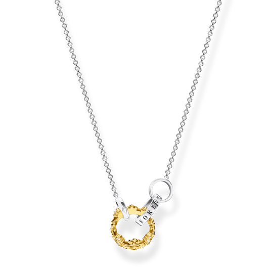 Necklace crown gold from the Glam & Soul collection in the THOMAS SABO online store