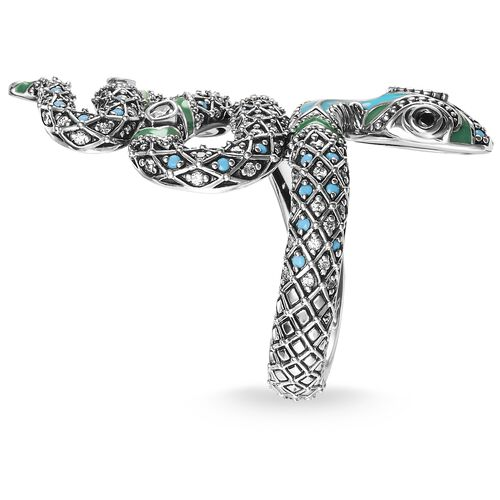 "ring ""snake"" from the Glam & Soul collection in the THOMAS SABO online store"