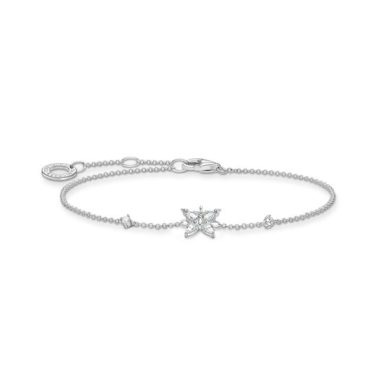 Bracelet papillon pierres blanches de la collection Charming Collection dans la boutique en ligne de THOMAS SABO