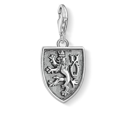 Charm pendant coat of arms of the Czech Republic from the Charm Club collection in the THOMAS SABO online store