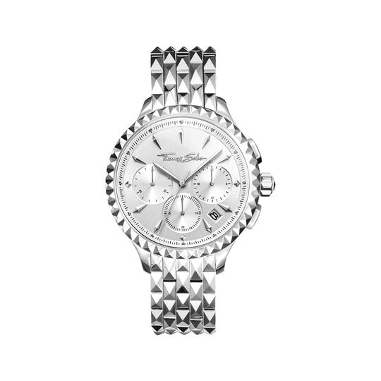 Women's watch REBEL AT HEART WOMEN CHRONOGRAPH silver from the  collection in the THOMAS SABO online store