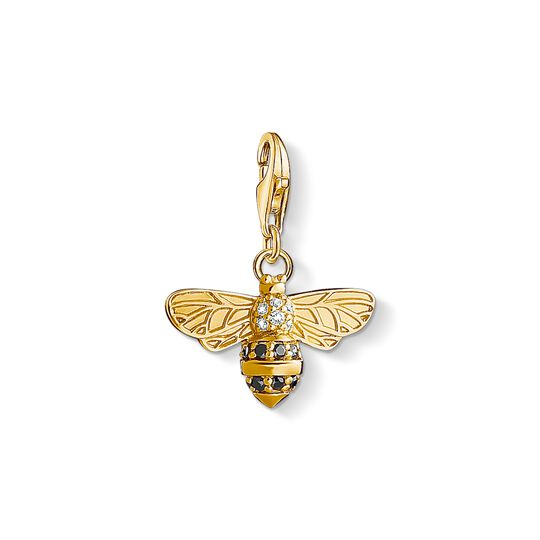 Charm pendant bee from the Charm Club collection in the THOMAS SABO online store