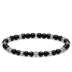 bracelet Lucky charm, black from the Glam & Soul collection in the THOMAS SABO online store