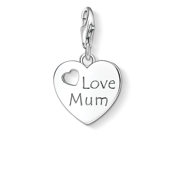 "ciondolo Charm ""LOVE MUM"" from the  collection in the THOMAS SABO online store"