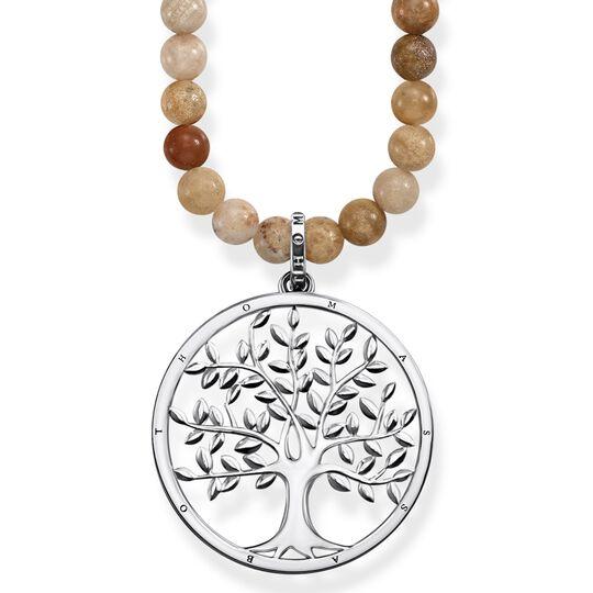 """Kette """"Power Necklace Tree of Love Beige"""" aus der Glam & Soul Kollektion im Online Shop von THOMAS SABO"""