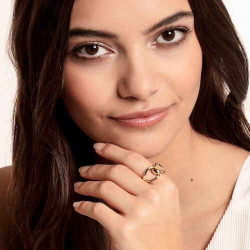 """ring """"Heritage"""" from the Glam & Soul collection in the THOMAS SABO online store"""