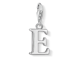 "Charm pendant ""letter E"" from the  collection in the THOMAS SABO online store"