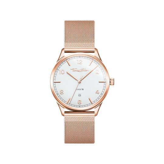 Watch unisex CODE TS rosegold from the  collection in the THOMAS SABO online store