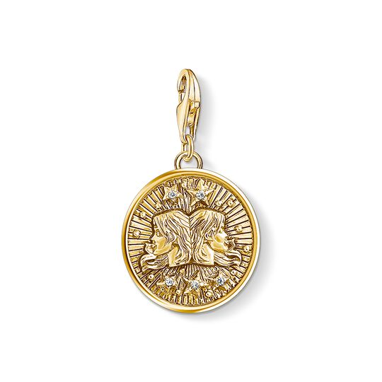 Charm pendant zodiac sign Gemini from the Charm Club collection in the THOMAS SABO online store