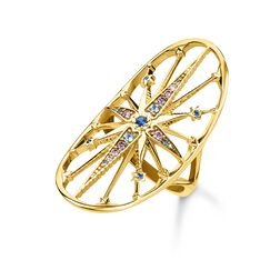 anello Royalty Stella dorata from the Glam & Soul collection in the THOMAS SABO online store