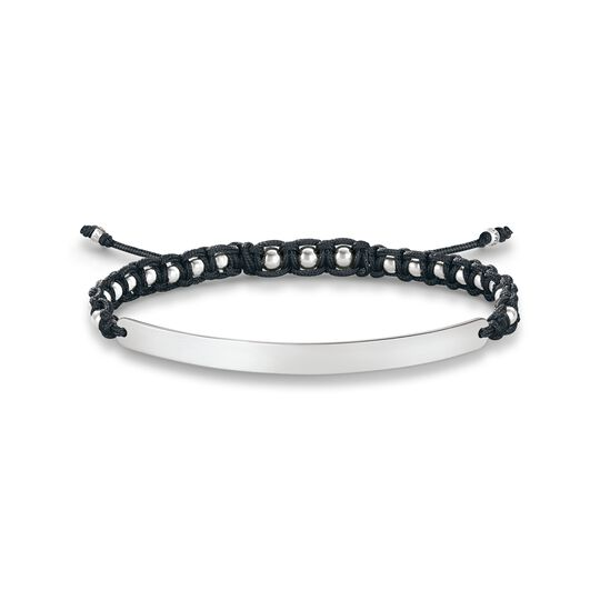 bracelet black-silver from the  collection in the THOMAS SABO online store