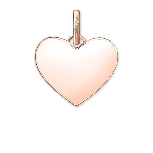 """pendant """"heart pavé"""" from the Love Bridge collection in the THOMAS SABO online store"""