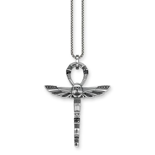 necklace cross of life ankh with scarab from the Glam & Soul collection in the THOMAS SABO online store