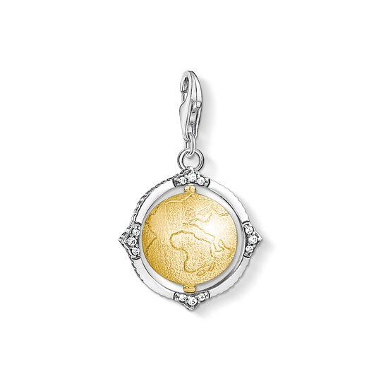 pendentif Charm vintage globe terrestre de la collection Charm Club dans la boutique en ligne de THOMAS SABO