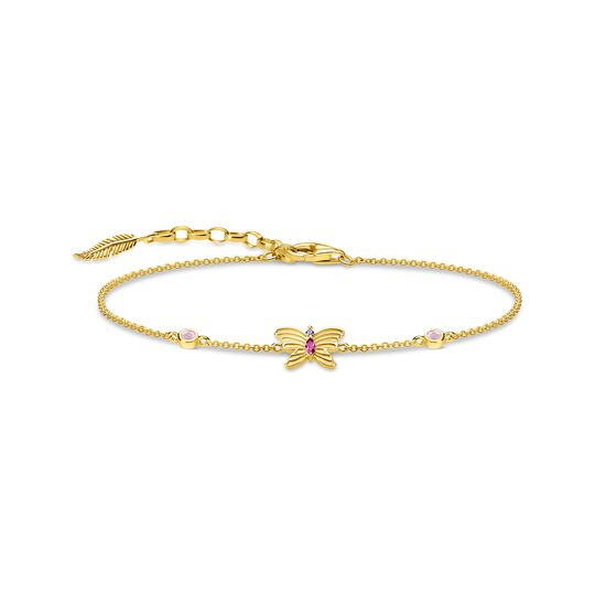 bracelet butterfly gold from the  collection in the THOMAS SABO online store