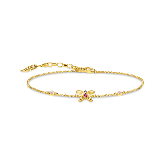 bracelet butterfly gold from the Glam & Soul collection in the THOMAS SABO online store