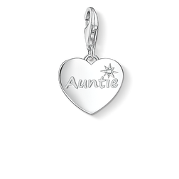 """Charm pendant """"AUNTIE"""" from the  collection in the THOMAS SABO online store"""