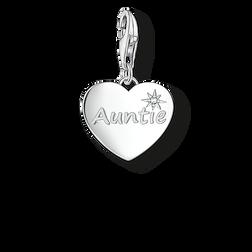 """pendentif Charm """"AUNTIE"""" de la collection  dans la boutique en ligne de THOMAS SABO"""
