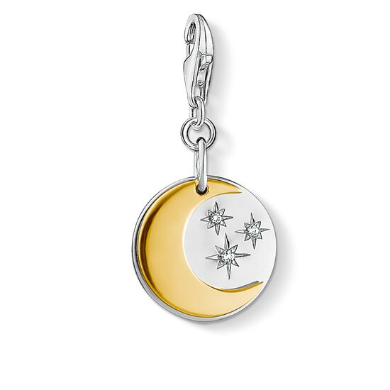 "ciondolo Charm ""luna e stelle"" from the  collection in the THOMAS SABO online store"