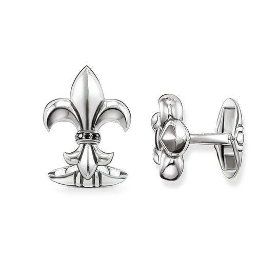 cufflinks Diamond Lily from the Rebel at heart collection in the THOMAS SABO online store