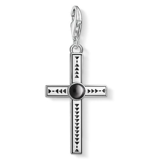 Charm pendant Ethnic cross from the Charm Club collection in the THOMAS SABO online store