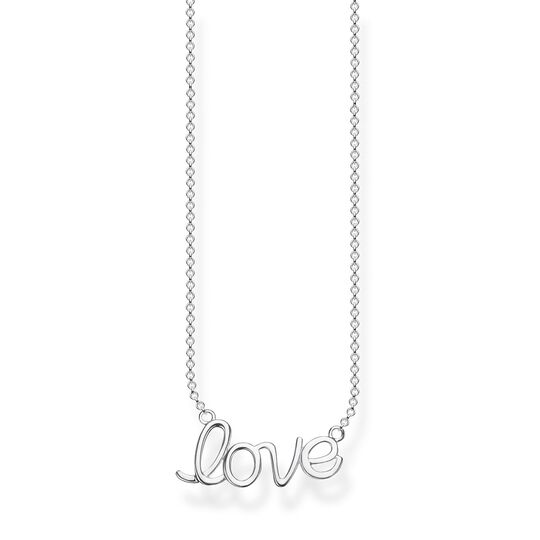 necklace love from the Glam & Soul collection in the THOMAS SABO online store