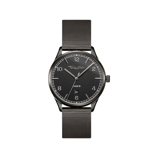 Watch unisex CODE TS black from the  collection in the THOMAS SABO online store