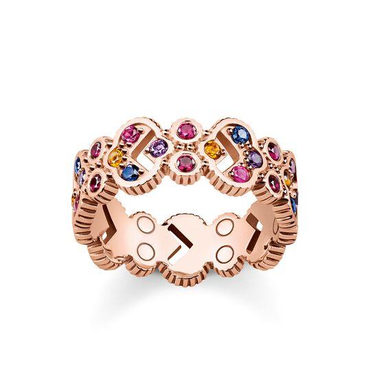 """anillo """"Royalty piedras de colores"""" de la colección Glam & Soul en la tienda online de THOMAS SABO"""