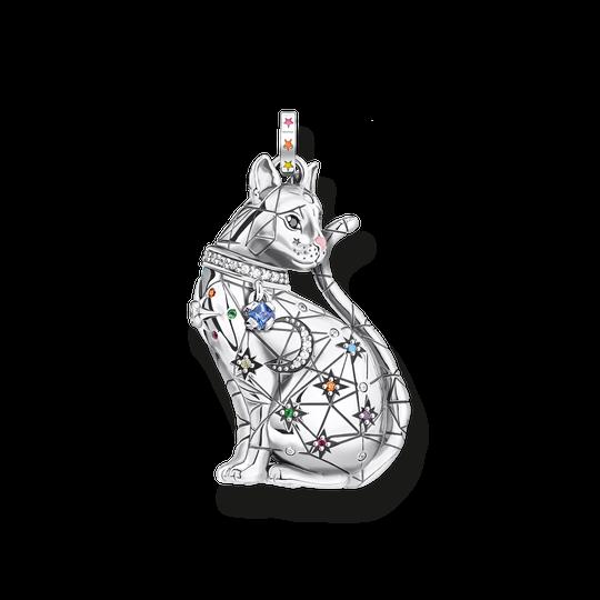 Anhänger Katze Sternenbild silber aus der Glam & Soul Kollektion im Online Shop von THOMAS SABO