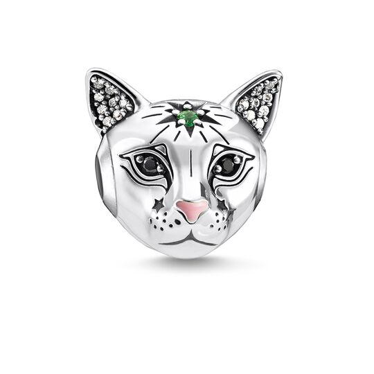Bead Cat silver from the Karma Beads collection in the THOMAS SABO online store