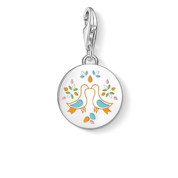"ciondolo Charm ""medaglia messicana colombe"" from the  collection in the THOMAS SABO online store"