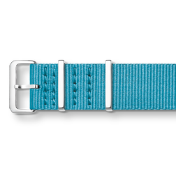 NATO textile strap, turquoise-coloured from the  collection in the THOMAS SABO online store