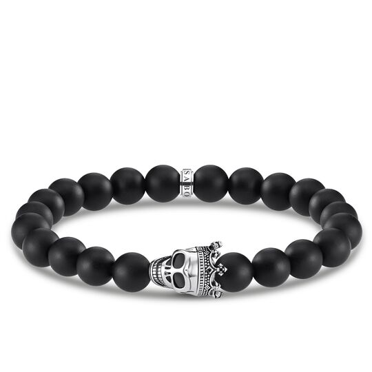 bracelet Skull King from the Rebel at heart collection in the THOMAS SABO online store