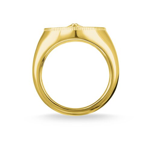 "ring ""Vintage compass gold"" from the Glam & Soul collection in the THOMAS SABO online store"