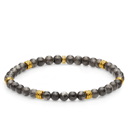 bracelet Lucky charm, grey from the Glam & Soul collection in the THOMAS SABO online store