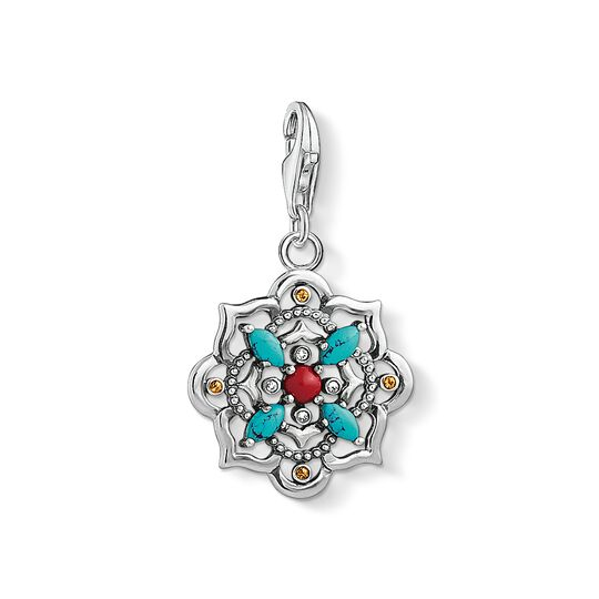 Charm pendant Ethnic lotus flower from the Charm Club collection in the THOMAS SABO online store