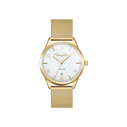 montre pour femme Code TS petit or jaune de la collection  dans la boutique en ligne de THOMAS SABO