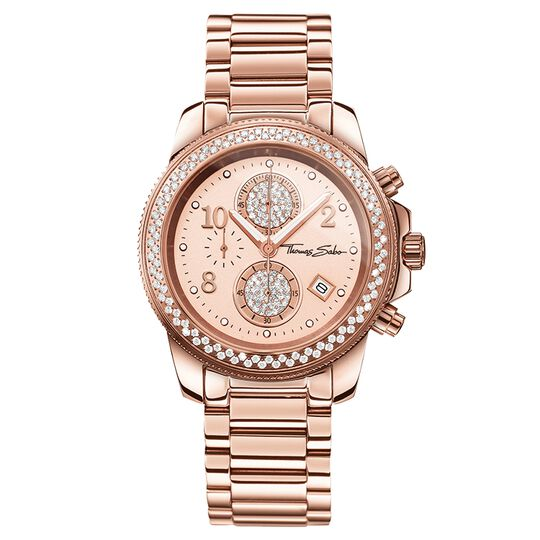 Women's Watch GLAM CHRONO from the Glam & Soul collection in the THOMAS SABO online store