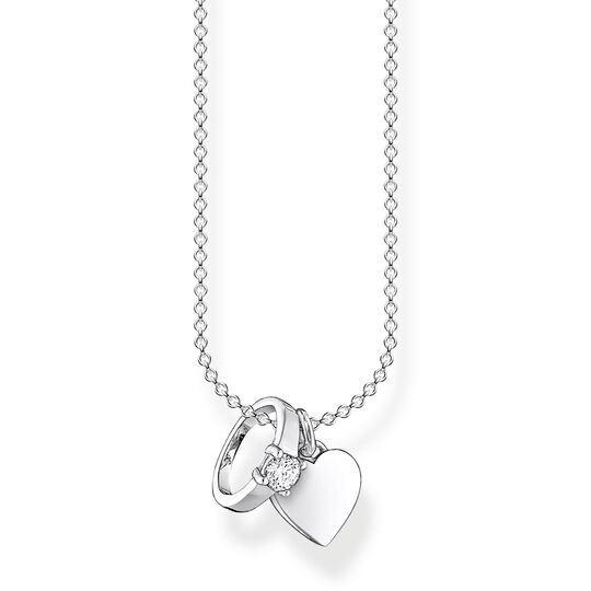 Necklace ring with heart from the Charming Collection collection in the THOMAS SABO online store
