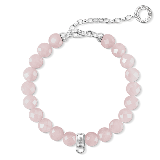 Charm bracelet pink from the Charm Club collection in the THOMAS SABO online store