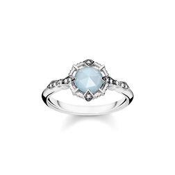 """Ring """"Vintage hellblau"""" aus der Glam & Soul Kollektion im Online Shop von THOMAS SABO"""