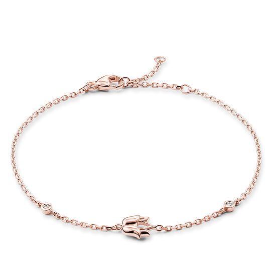 bracelet fleur de lotus de la collection Glam & Soul dans la boutique en ligne de THOMAS SABO