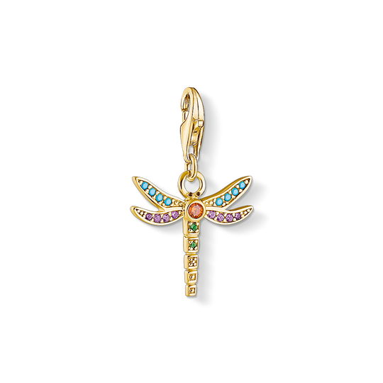 Charm pendant dragonfly from the Charm Club collection in the THOMAS SABO online store